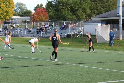 Girls varsity field hockey loses in a dog fight vs EGR 1-0