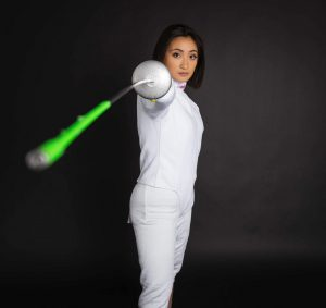 Annika Santos: the fencer, the academic, and the human