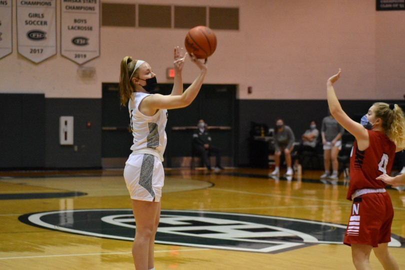 Girls varsity basketball sneaks out 46-38 win over Greenville