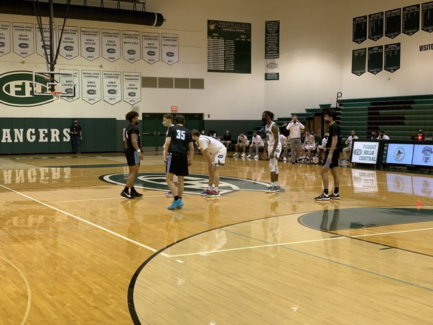Varsity basketball slumps late to Forest Hills Northern, losing 82-71 and falling to 1-1