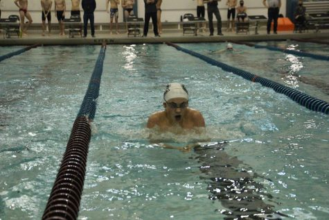 Rangers achieve a few state cuts but fall to GRC in dual meet