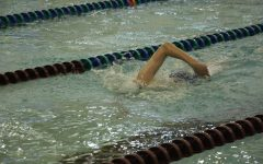 Rangers fall 102-77 to rival East Grand Rapids in Tueday's dual meet