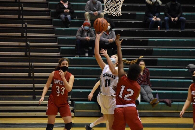 Girls varsity basketball suffers second loss of season to Byron Center 62-48