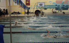 Girls swim and dive notches record-breaking performances against Northern/Eastern