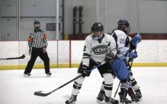 Hockey sweeps Grand Rapids Christian in season series