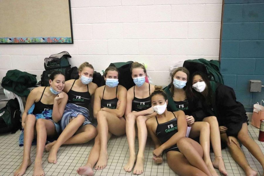 Girls swim and dive defeats Byron Center 91-88