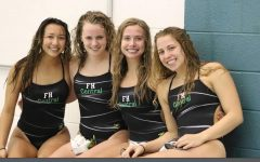 Girls swim and dive takes third place in the OK White conference meet