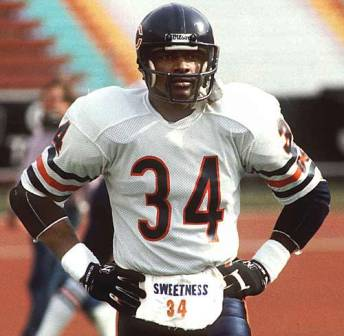 Walter Payton:The greatest running back of all time?