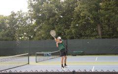 Varsity tennis falls 6-2 to rival FHN in last regular season match