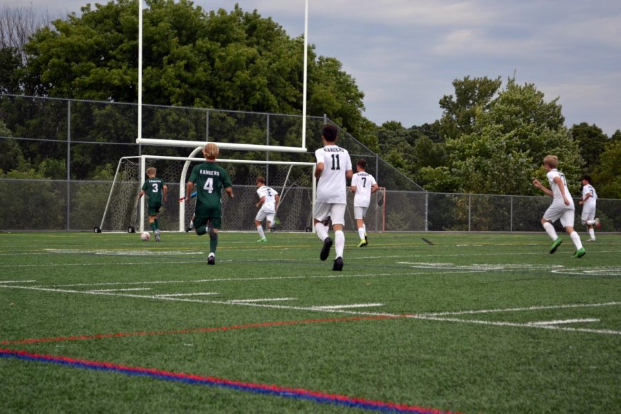 Boys JV Soccer Narrowly drops opening game to Lowell 1-0