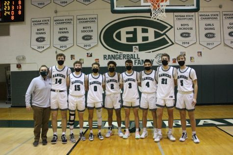 Boys varsity basketball Senior Night: Photo Gallery