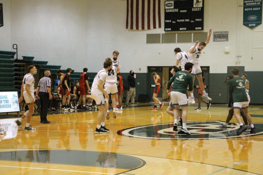 Seniors lead boys varsity basketball to 73-55 win over Lowell