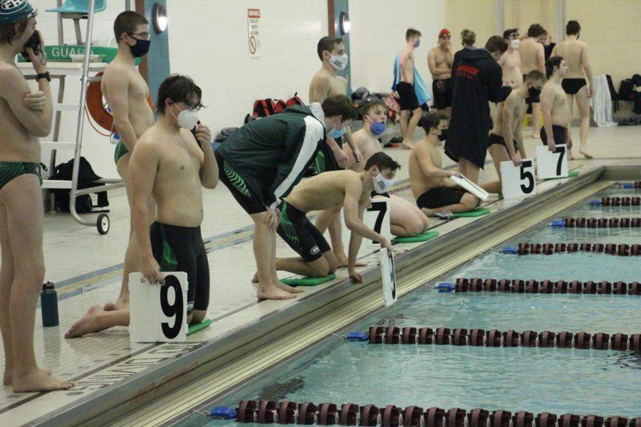 Boys+swim+and+dive+takes+second+place+at+conference+despite+a+tough+regular+season