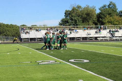 EGR trumps boys varsity soccer in first round of OK White Conference Tournament