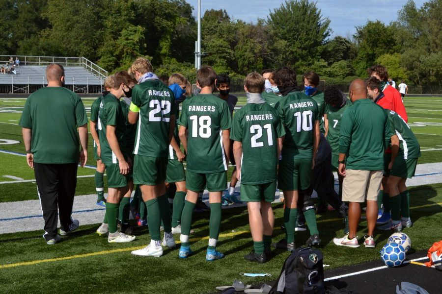 Ranger defense leads the way for varsity soccer in a 2-0 victory against Portage Northern