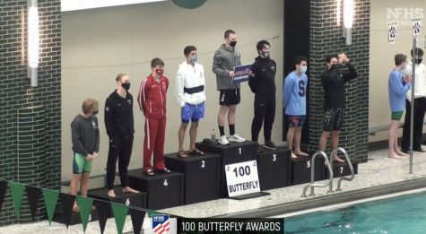 Avery LeTourneau leads swim and dive team to 10th place finish at state meet