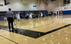Girls JV basketball finishes just shy of a victory over the Byron Center Bulldogs with a score of 42-39