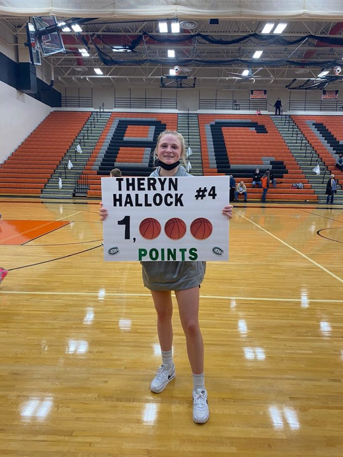 1,000 point Q&A with Theryn Hallock