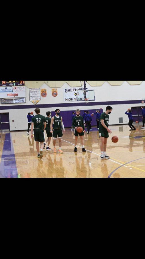 Boys JV basketball takes down Greenville 69-26