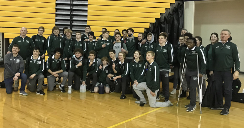 Boys varsity wrestling has tremendous weekend, finishing 3-0
