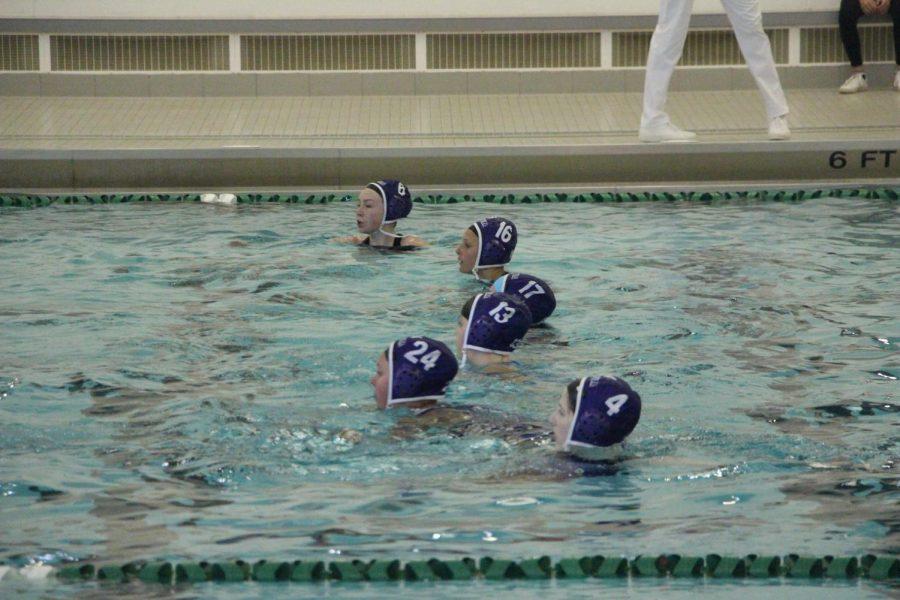 Girls JV water polo beats Grandville twice in one week