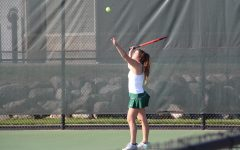 Girls varsity tennis vs. EGR: Photo Gallery