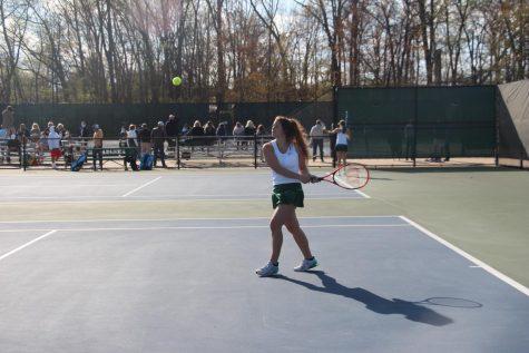 Girls JV tennis beats Byron Center 5-4 due to elite play from underclassmen