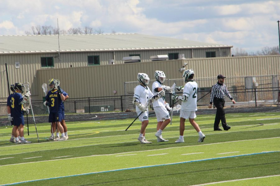 Widespread contribution gives boys varsity lacrosse 21-0 win over Hudsonville