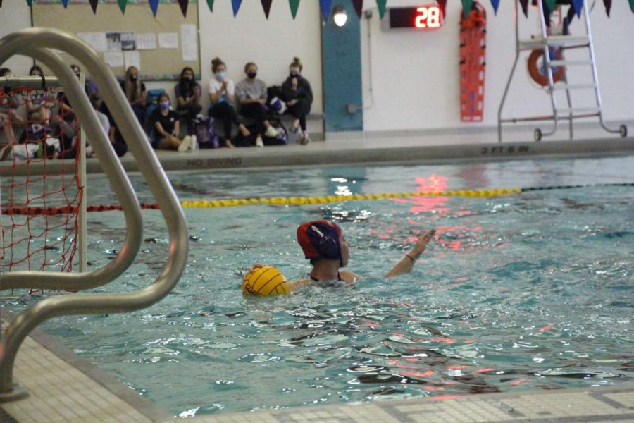 Varsity water polo fails to continue their hot streak and loses to East Grand Rapids 16-2