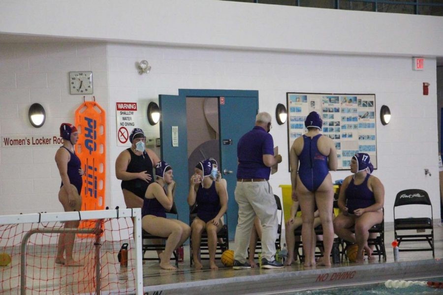 Varsity water polo earns its first win of the season after defeating Grand Ledge 13-11