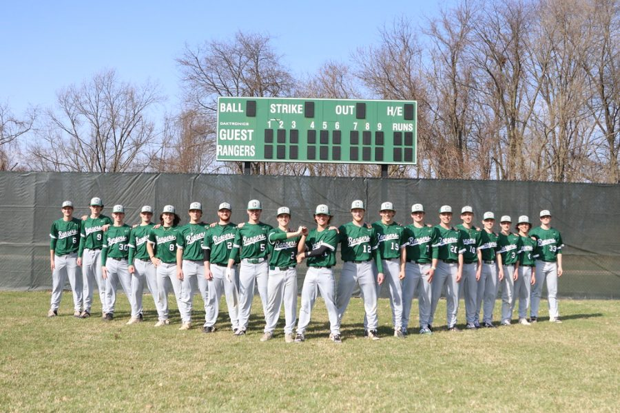 A junior-driven varsity baseball team downs Greenville 10-1, solidifying clean sweep over the Yellow Jackets