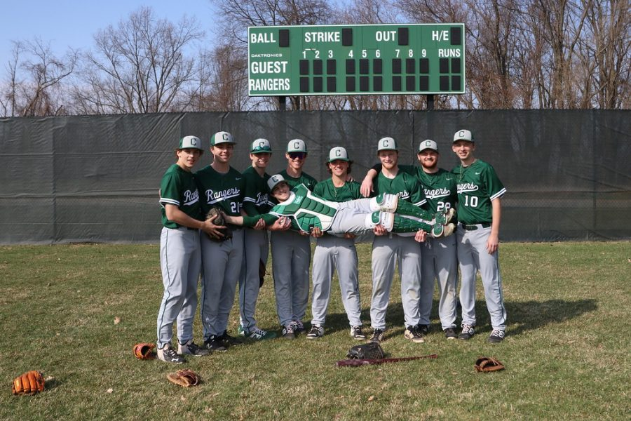 Varsity baseball continues its slump with a series of losses against Grand Rapids Christian