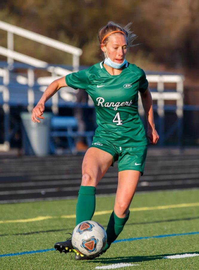 Girls varsity soccer holds strong to defeat Gull Lake in a 1-0 defensive battle