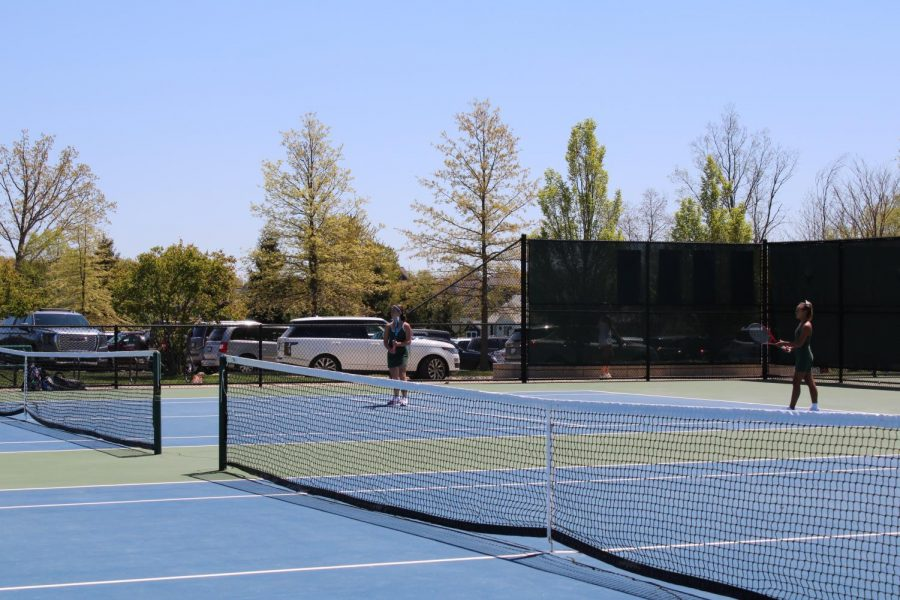 Girls varsity tennis places third at MHSAA Regionals