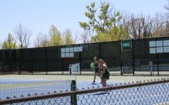 Hudsonville knocks off girls varsity tennis by a score of 8-0