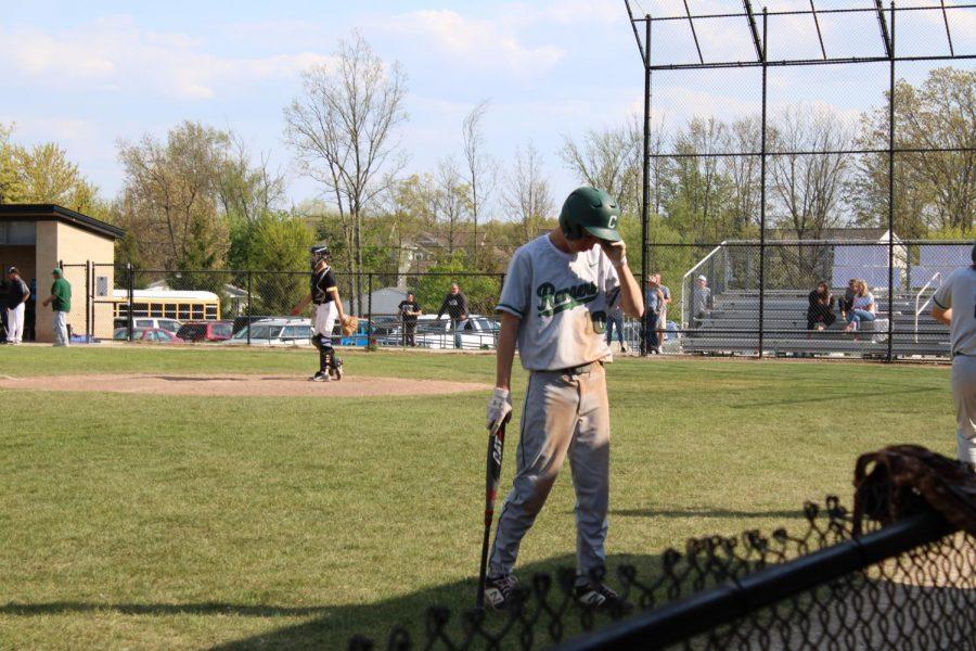 Varsity baseball vs. Kenowa Hills: Photo Gallery