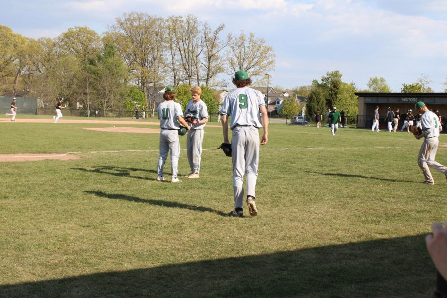 Varsity baseball struggles against Forest Hills Northern and drops both doubleheader games