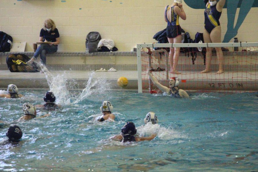 Varsity water polo crushes West Ottawa 20-5