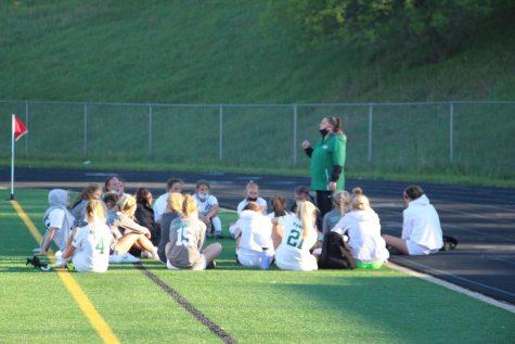 Girls varsity soccer vs. Forest Hills Northern: Photo Gallery