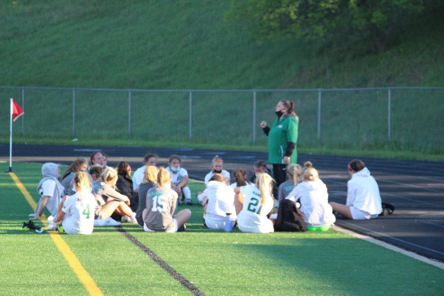 Girls varsity soccer vs. Forest Hills Northern: Photo Gallery