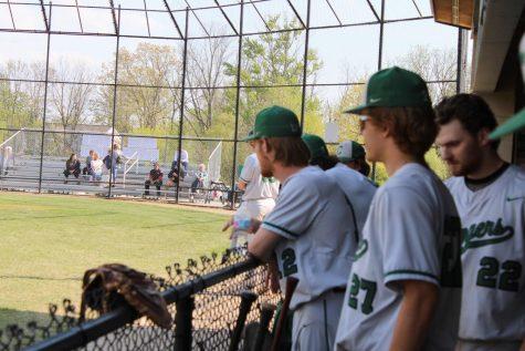 Joey Wise and Joe Seurynck lead the varsity baseball team to a sweep over Comstock Park