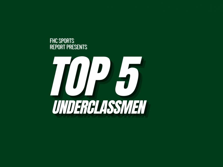 Top 5 Underclassmen