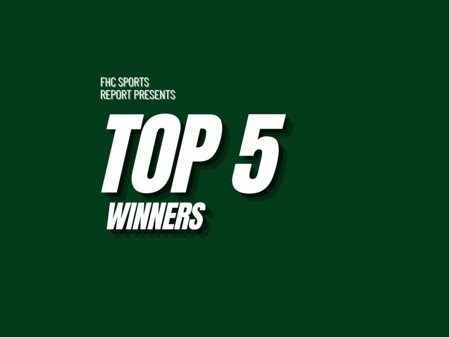 Top 5 Winners