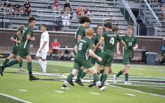 Boys varsity soccer snags first conference win of the season over Greenville 6-0