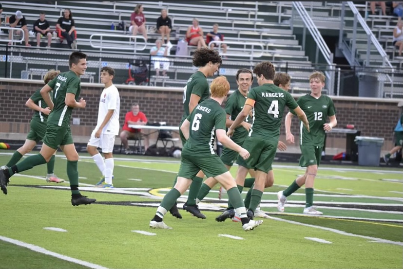 Bennett Nieuwkoop keeps on playing hero for boys varsity soccer in a 1-1 tie against East Grand Rapids
