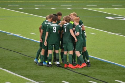 Boys varsity soccer loses to powerhouse Grand Rapids Christian 6-2 despite an early lead