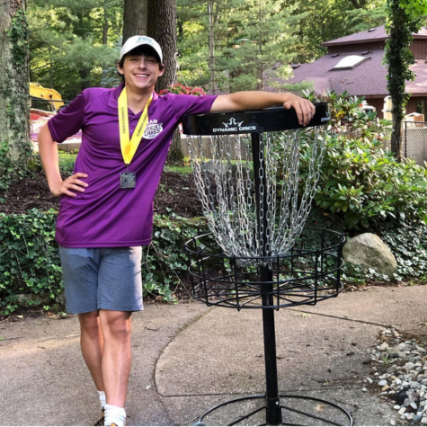 Frisbee golf is more than a hobby for Benji Zorn