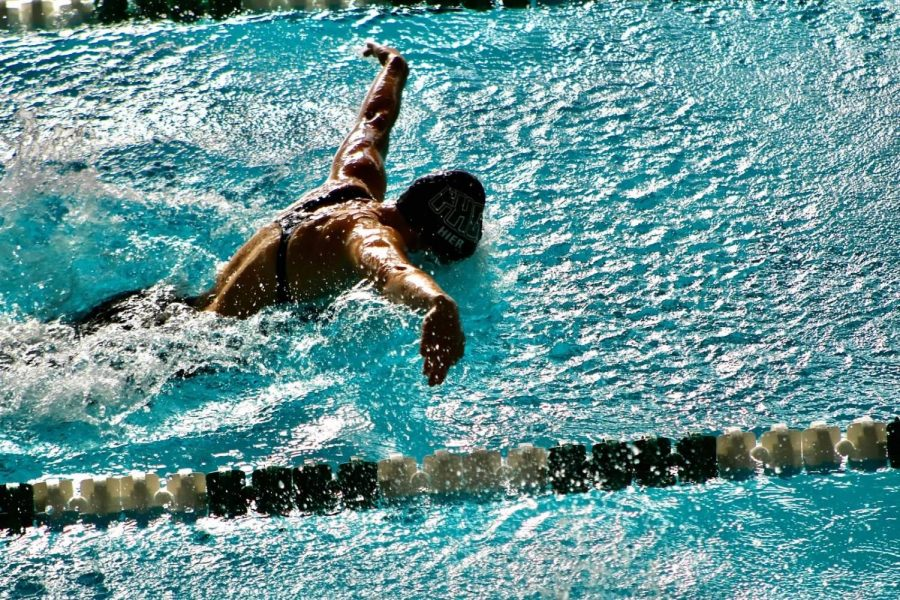 Girls swim and dive takes commanding victory over Grand Rapids Chirstian
