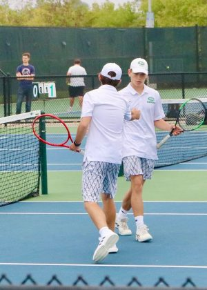 Boys varsity tennis places eighth at the MHSAA State Tournament